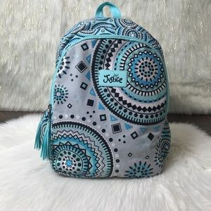 Justice | Girls Glittery Backpack